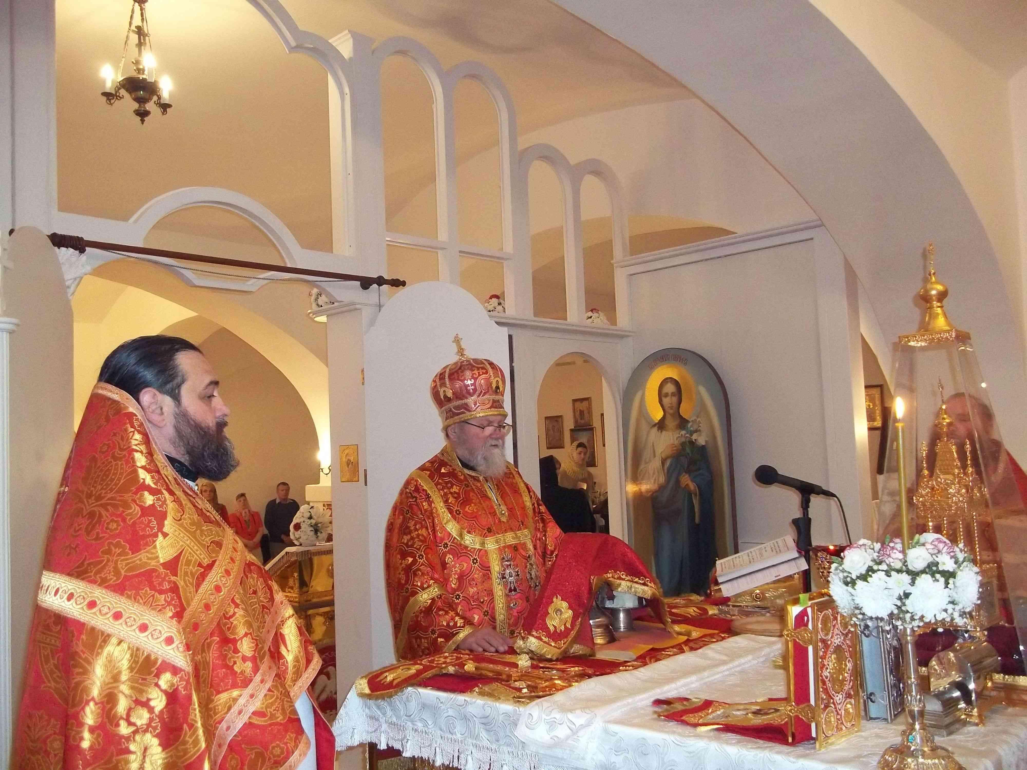 Pascha a Světlý týden arcibiskupa Michala v Pražské eparchii