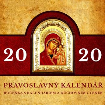 Pravoslavný kalendář 2020